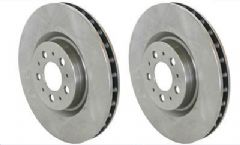 Volvo S60R, V70R (AWD 300bhp) (04-07) Front Brake Discs (17.5 inch 330mm) (Pair)
